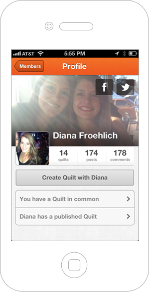 New Quilt Profile Pages